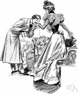 comportment - dignified manner or conduct