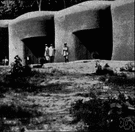 Maginot Line - a fortification built before World War II to protect France's eastern border