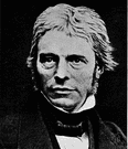 Faraday - the English physicist and chemist who discovered electromagnetic induction (1791-1867)