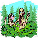 hippies - a youth subculture (mostly from the middle class) originating in San Francisco in the 1960s