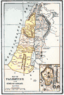 Palestine - a former British mandate on the east coast of the Mediterranean