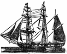 Masted - having or furnished with a mast