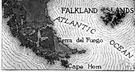 Falkland Islands - a group of over 100 islands in the southern Atlantic off the coast of Argentina