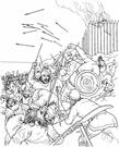 foray - a sudden short attack