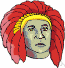 chieftain - the head of a tribe or clan