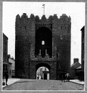 Drogheda - in 1649 the place was captured by Oliver Cromwell, who massacred the Catholic inhabitants