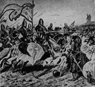 Hundred Years' War - the series of wars fought intermittently between France and England