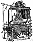 jacquard - French inventor of the Jacquard loom that could automatically weave complicated patterns (1752-1834)