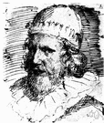Inigo Jones - one of the first great English architects and a theater designer (1573-1652)