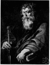 Paul - (New Testament) a Christian missionary to the Gentiles