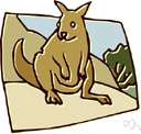 metatherian - primitive pouched mammals found mainly in Australia and the Americas