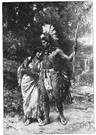 Hiawatha - a Native American chieftain who argued for peace with the European settlers (16th century)