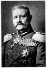 Paul von Hindenburg - German field marshal and statesman