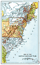 East Coast - the eastern seaboard of the United States (especially the strip between Boston and Washington D.C.)