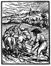 ploughman - a man who plows