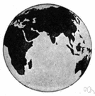 orient - the hemisphere that includes Eurasia and Africa and Australia