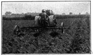 Lister - moldboard plow with a double moldboard designed to move dirt to either side of a central furrow