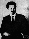 Lev Davidovich Bronstein - Russian revolutionary and Communist theorist who helped Lenin and built up the army