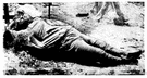 clay - the dead body of a human being