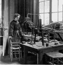 Marie Curie - French chemist (born in Poland) who won two Nobel prizes