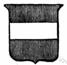 fess - (heraldry) an ordinary consisting of a broad horizontal band across a shield