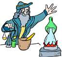 alchemistic - of or relating to alchemists