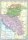 Srbija - a historical region in central and northern Yugoslavia