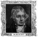 Sir Walter Scott - British author of historical novels and ballads (1771-1832)
