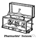analytical balance - a beam balance of great precision used in quantitative chemical analysis