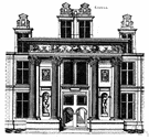 frontispiece - an ornamental facade