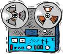 tape deck - electronic equipment for making or playing magnetic tapes (but without amplifiers or speakers)