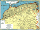Republic of Tunisia - a republic in northwestern Africa on the Mediterranean coast
