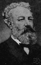 Jules Verne - French writer who is considered the father of science fiction (1828-1905)