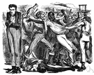 lynching - putting a person to death by mob action without due process of law