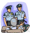 police officer - a member of a police force