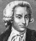 Galvani - Italian physiologist noted for his discovery that frogs' muscles contracted in an electric field (which led to the galvanic cell) (1737-1798)