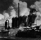 refinery - an industrial plant for purifying a crude substance