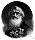 Samuel F. B. Morse - United States portrait painter who patented the telegraph and developed the Morse code (1791-1872)