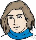 polo-neck collar - a high close-fitting turnover collar
