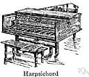 pair of virginals - a legless rectangular harpsichord