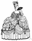 petticoat - undergarment worn under a skirt