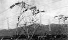 power grid - a system of high tension cables by which electrical power is distributed throughout a region