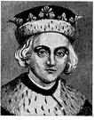 Edward V - King of England who was crowned at the age of 13 on the death of his father Edward IV but was immediately confined to the Tower of London where he and his younger brother were murdered (1470-1483)