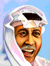 Saudi Arabian - a native or inhabitant of Saudi Arabia