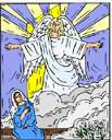 archangel - an angel ranked above the highest rank in the celestial hierarchy