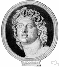 Alexandrian - of or relating to Alexander the Great or his empire