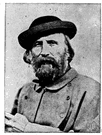 Giuseppe Garibaldi - Italian patriot whose conquest of Sicily and Naples led to the formation of the Italian state (1807-1882)