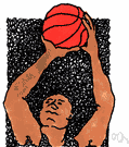penalty free throw - an unhindered basketball shot from the foul line