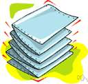 4to - the size of a book whose pages are made by folding a sheet of paper twice to form four leaves