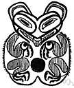 Tsimshian - a member of a Penutian people who lived on rivers and a sound in British Columbia